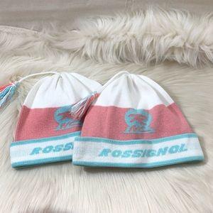 Rossignol Girls Kids Winter Ski Hat Bundle